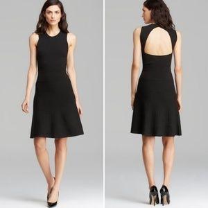 Theory Maysen Sleeveless Knit Dress Black Small